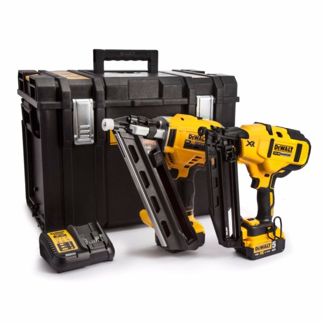 Dewalt Dcn660 Dcn692 Framing Finishing Nailer Twin Pack Kit Nail Gun