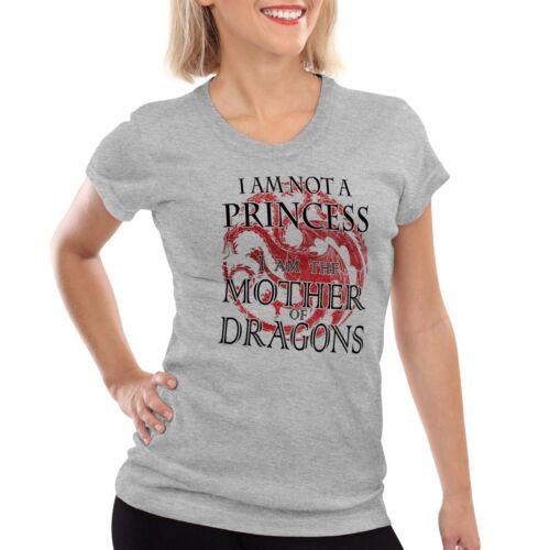 Drachenmutter Damen T-Shirt mother of dragons khaleesi thrones of game targaryen