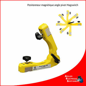 Positionneur Magnétique Angle Pivot Magswitch