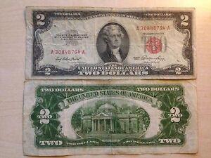 STATI-UNITI-USA-2-DOLLARI-TWO-DOLLARS-SERIES-1953-SIGILLO-ROSSO-MOLTO-RARA