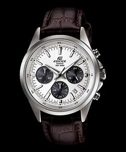 CASIO-EDIFICE-EFR527L-7A-EFR-527L-7A-CHRONOGRAPH-STOPWATCH-BROWN-LEATHER-BAND