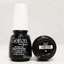 Gelaze China Glaze LED UV Nail Gel Color Polish 0.5 oz - Liquid Leather 81615