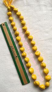 "Hawaiian Kukui Nuts Necklace Hawaii Handcrafted Beads 32/"" Leis Multicolor N"