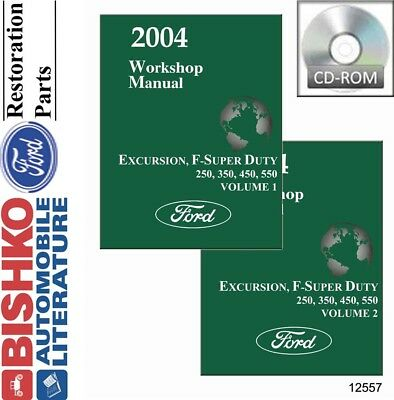 2004 FORD TRUCK Excursion F250 350 450 550 Owners Operators Owner Manual NEW
