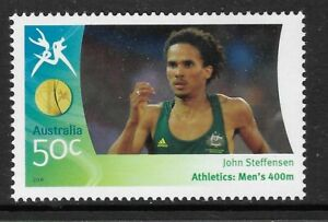 AUSTRALIA-2006-COMMONWEALTH-GAMES-ATHLETICS-Men-039-s-John-Steffensen-400m-1v-MNH