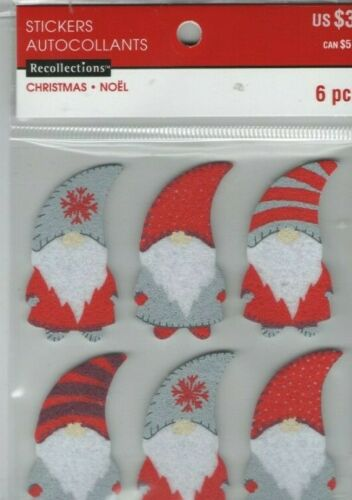 NEW Recollections CHRISTMAS /& WINTER variety stickers~Dimensional~FAST SHIP!