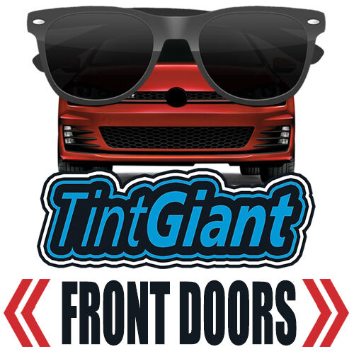 TINTGIANT PRECUT FRONT DOORS WINDOW TINT FOR CHEVY 1500 CREW 14-18