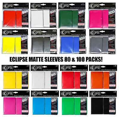 Pacific Blue Deck Protector /& Deck Box Combo for MTG Pro-Matte Eclipse by Ultra Pro 100 Count