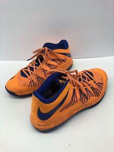 2b5ab4b19e4 Nike Air Max Lebron X Low Bright Citrus Basketball Shoes 579765-800 ...