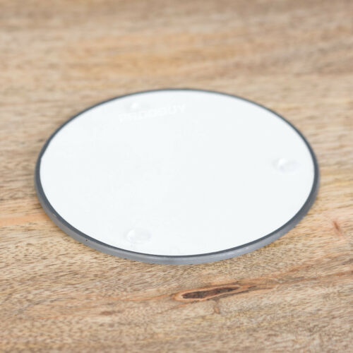 Marble Glass Coaster Pillar Candle Candlestick Stick Holder Table Plate 10cm
