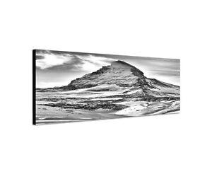 120x40cm matterhorn panorama schwarz wei alpen schweiz leinwand bild sinus art ebay. Black Bedroom Furniture Sets. Home Design Ideas