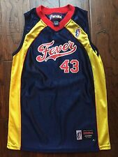 WNBA INDIANA  FEVER #43 Alicia Thompson YOUTH JERSEY Sz YOUTH Medium Texas Tech