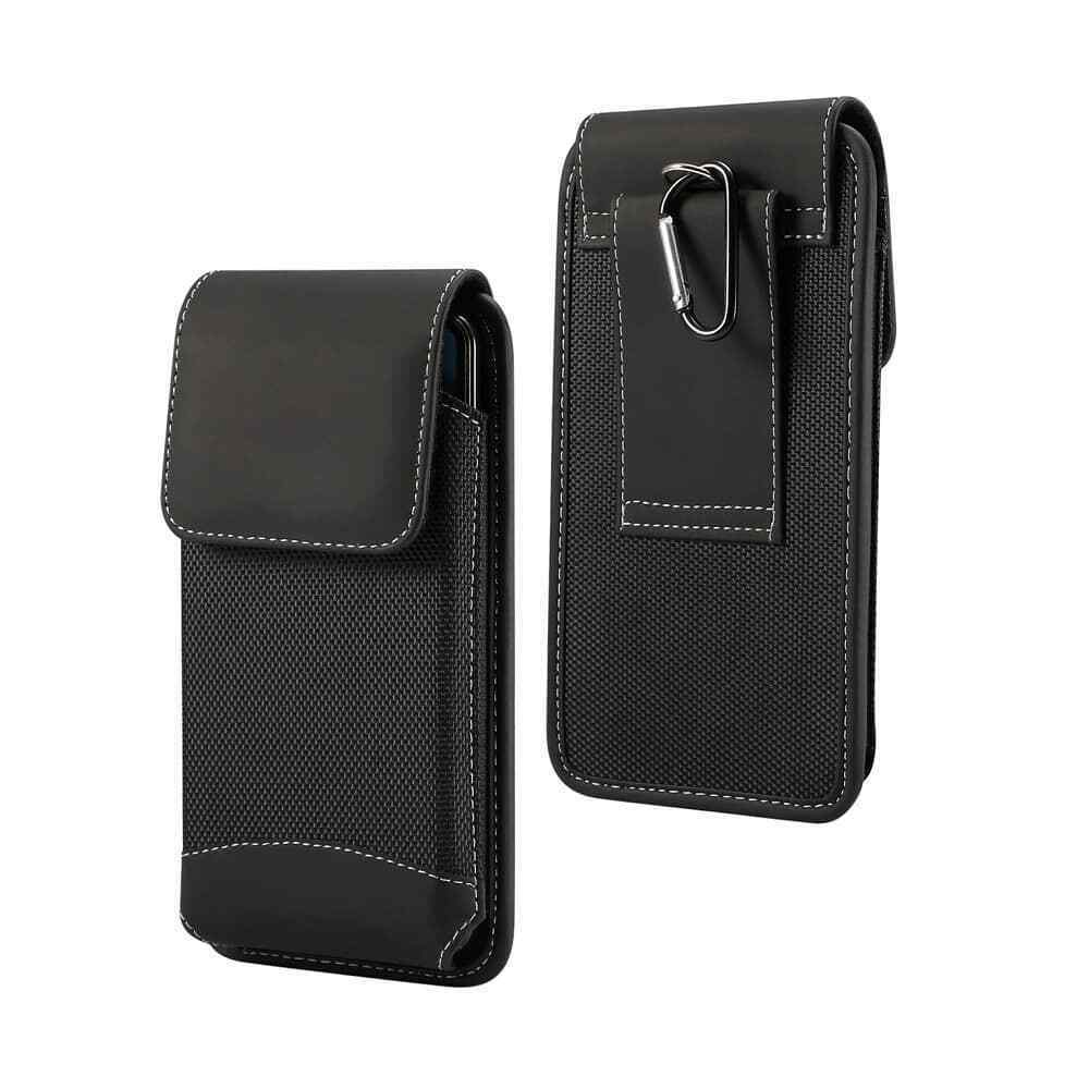 Belt Case for Huawei Mate 10 Lite Cover Vertical Leather & Nylon