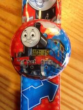 Thomas The Tank Engine Kids Digital Wrist Watch Easy Strap Boys Gift Slap ESY