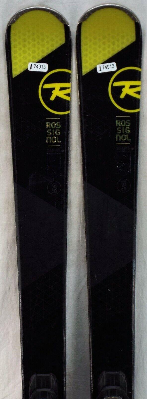 15-16 Rossignol Experience 84 Gebruikte mannen's Demo Skis w Binngs afmeting 178cm 35;174913