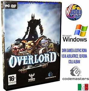 Overlord 2 Ii Pc Dvd Windows Game Italian New Eng 5024866340327 Ebay
