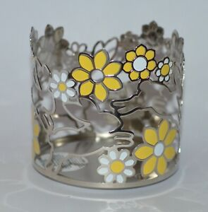 BATH-BODY-WORKS-BUNNIES-YELLOW-FLOWERS-BUNNY-LARGE-3-WICK-CANDLE-HOLDER-14-5-OZ