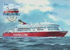 Aland Europe Viking Line Boat  Aland Finland Maxi FDC 2009