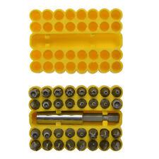Blue Spot 14151 33pc security bit set pin torx pin hex tri wing snake eye cross