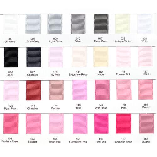 Premium Quality Ribbon Pink Blue Grosgrain Ribbon 1 3 metres 9 25 38 50 75mm