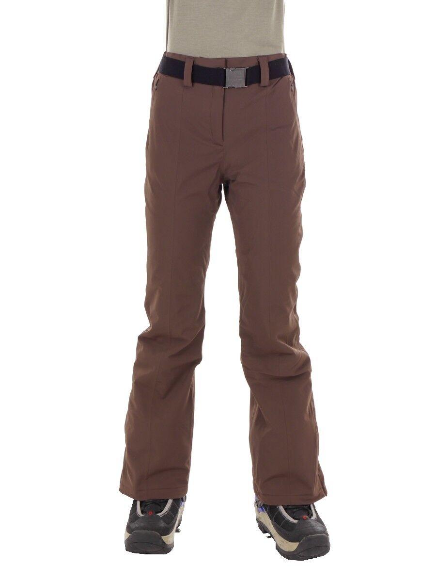 CMP Ski Trousers Snowboard Trousers Woman Pant Brown Windproof Waterproof