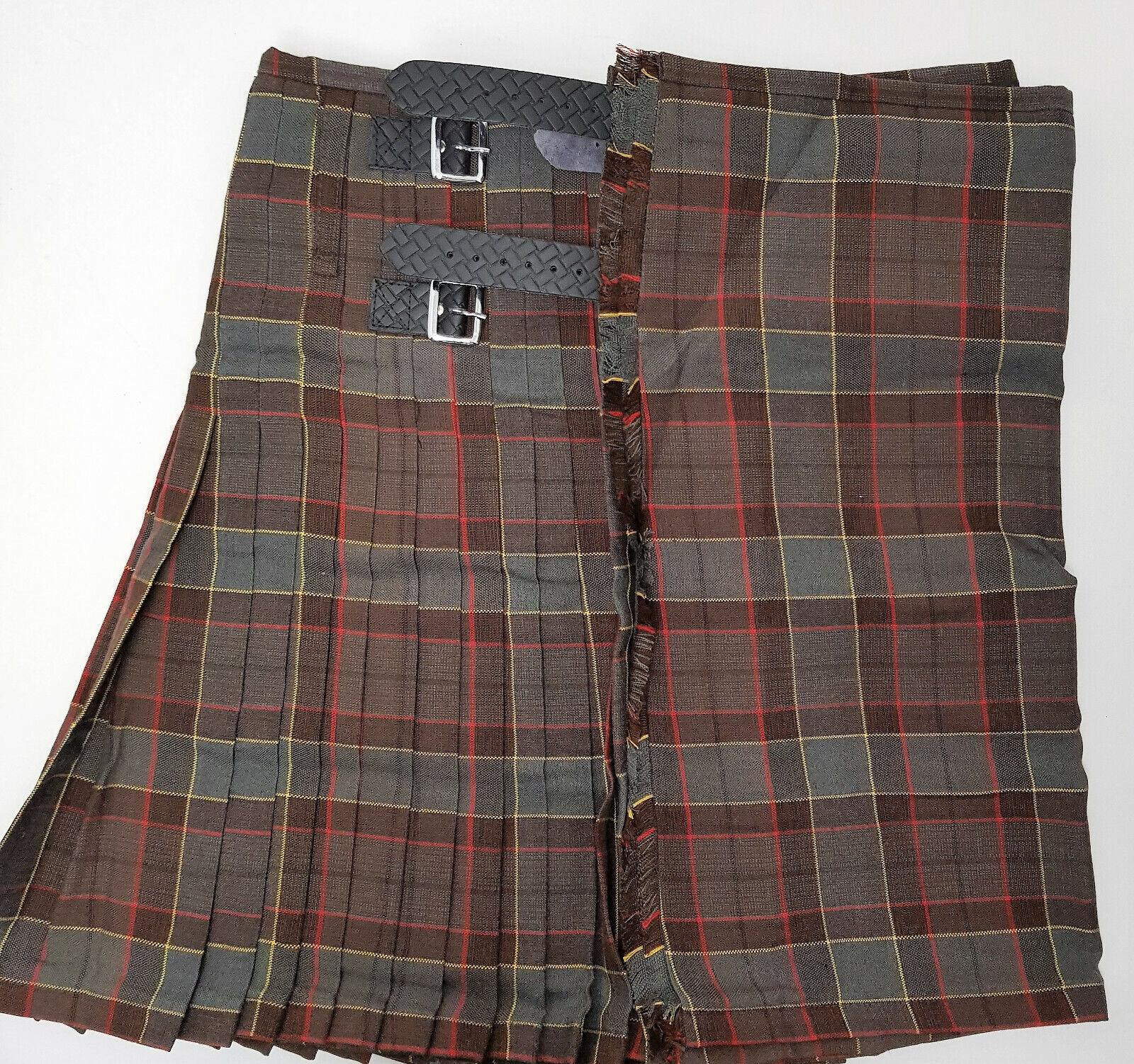 Jamie Fraser Outlander Wedding 8 Yard Wool Kilt Ex Hire A1 Condition