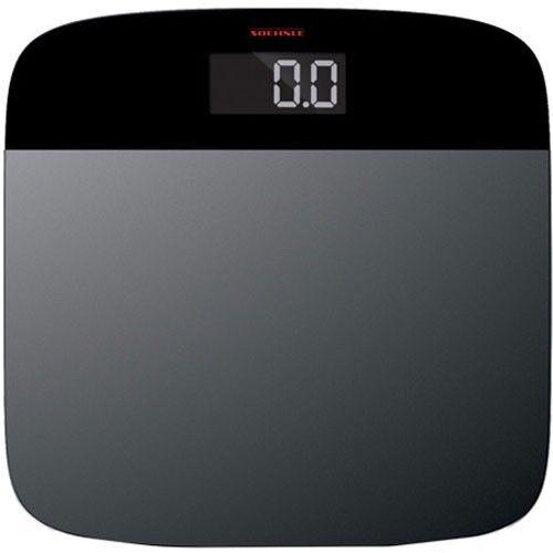 Soehnle Elegance Steel 150Kg Capacity Stainless Steel Bathroom Scales - GSH63332
