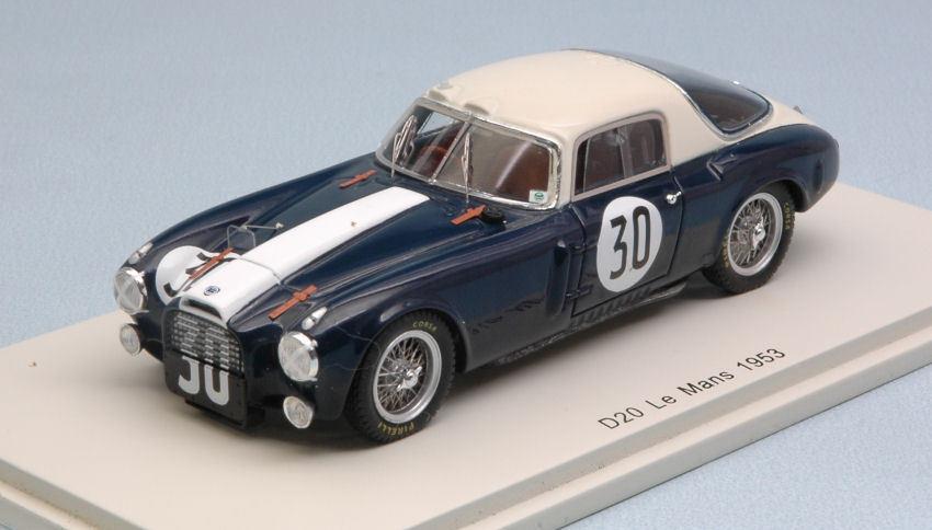Lancia d20 begriff.  30 ausfall - 1953 taruffi   u. maglioli 1 43 modell.