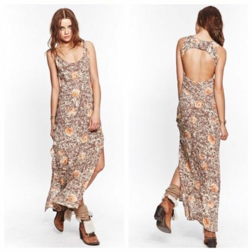 For Love And Lemons Midnight Cowgirl Maxi Dress Ta