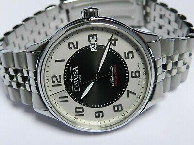 Automatic,swiss Vorsichtig Davosa Classic 2 Tone Le 40mm Bracelet Mint Condition,