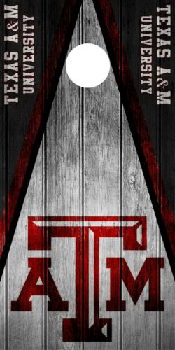 SINGLE Texas A/&M Aggies Cornhole Wrap Skin Decal Vinyl NCAA Game Logo DT304