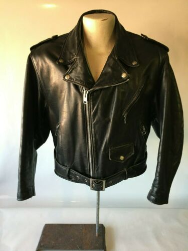 SCHOTT Perfecto Vintage Leather Motorcycle Jacket