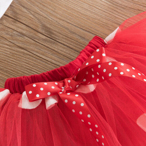 Minnie Mouse Baby Dress for Girl 1st Birthday Party Child Costume Infant Dresses