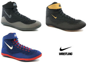 6dca8a4a6c8a89 Image is loading Wrestling-Shoes-Boots-NIKE-INFLICT-3-Ringerschuhe- Chaussures-