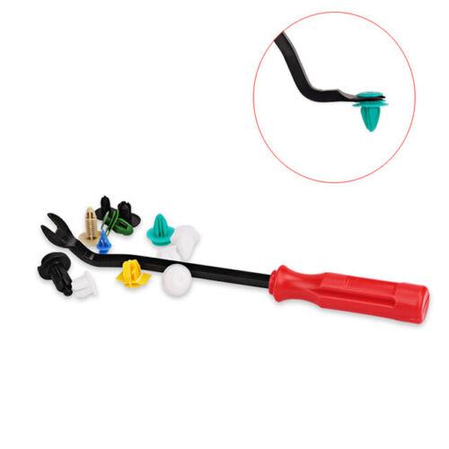 Fastener Screwdriver Auto Car Panel Puller Interior Trim Pry Clip Tool Remover G