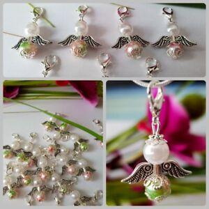 Details Zu 10 Schutzengel Grün Rosa Weiß Silber Hochzeit Gastgeschenk Taufe Tisch Deko 10