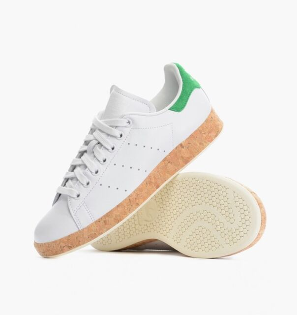 *RARE* ADIDAS ORIGINALS STAN SMITH LUXE CORK WOMENS TRAINERS UK SIZE 4 - 8
