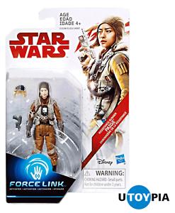 "STAR WARS THE LAST JEDI FORCE LINK Paige 3.75/"" Figure Resistance Gunner"