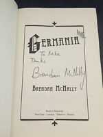 Germania By Brendan Mcnally Signed Inscribed 1st Debut Hbdj 2009 Brand