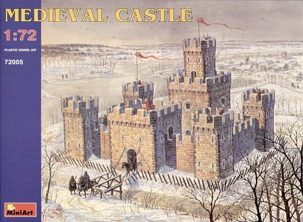 Miniart 1 72 Medievale Castello  72005