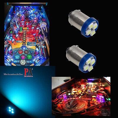 10x #1893 #44 #47 #1847 BA9S 4SMD LED Pinball Machine Light Bulb Purple 6.3VP3