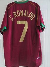 Portugal 2007-2008 Ronaldo Football Shirt Size Adult XL /40583