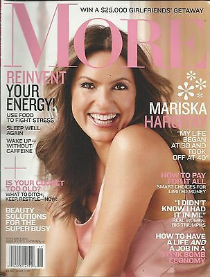 More magazine Mariska Hargitay Beauty solutions Female bonding Money choices