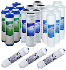 5 Stage Reverse Osmosis Replacement 21 Water Filters 3-4 Years Supply