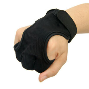 Archery-3-Finger-Protect-Glove-Shooting-Cow-Leather-Guard-Tab-Gear-Bow-Hunting