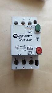 ALLEN-BRADLEY-140-MN-2000-C-MANUAL-MOTOR-STARTER-U9-4B3