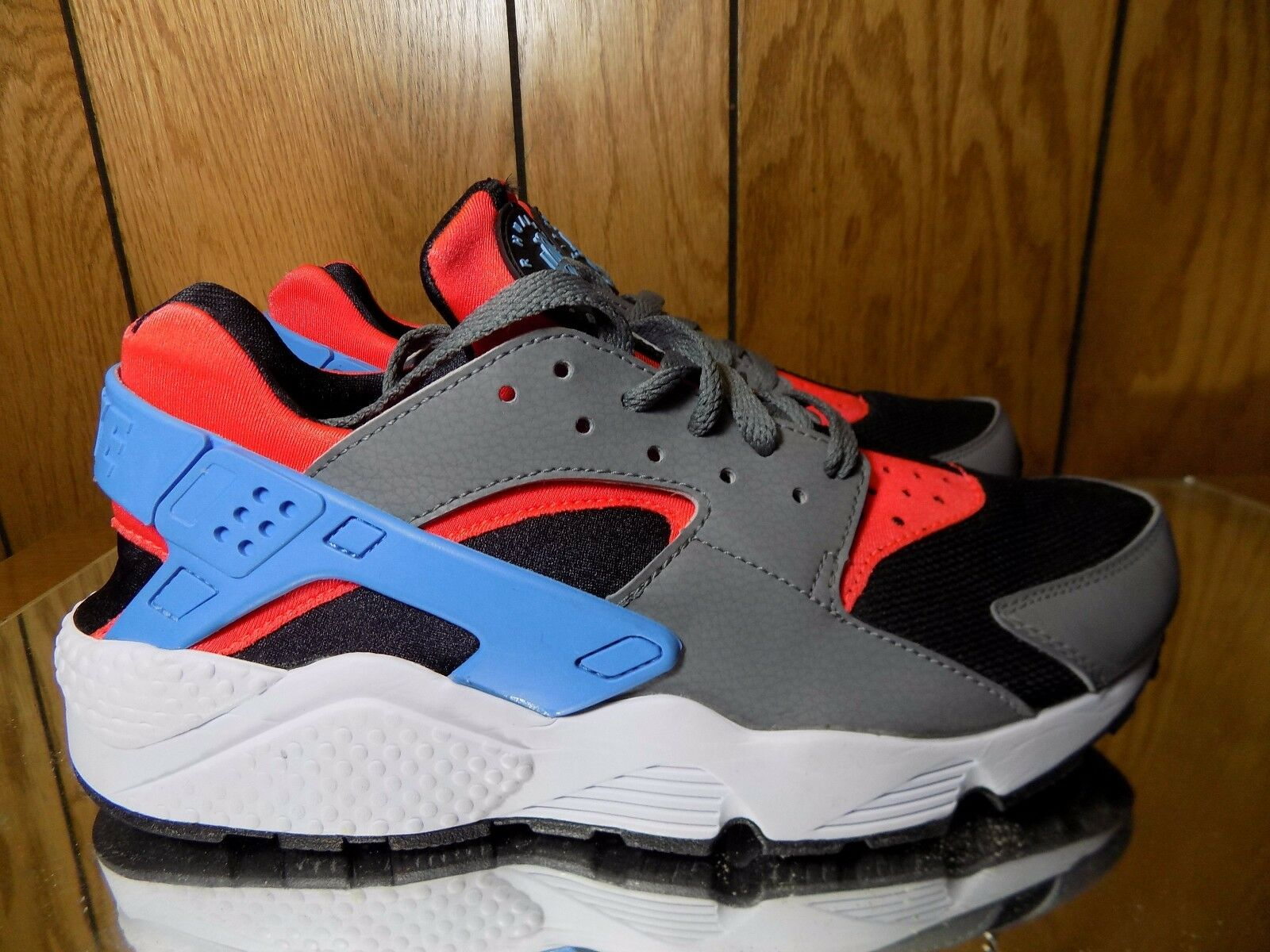 Nike Air Huarache Red blueee Black Grey s. 9