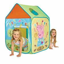 PEPPA PIG WENDY HOUSE PLAY TENT NEW KIDS INDOOR & OUTDOOR ACTIVE PLAY FREE P+P