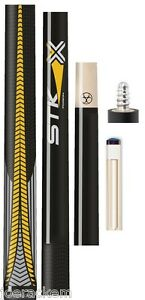 25-OFF-NEW-Poison-VX-STK-Y-Playing-Cue-Yellow-with-Sport-Grip-Handle