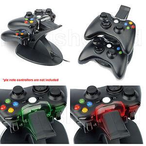 Dual-Usb-Cargador-Docking-Station-Base-De-Carga-Para-Xbox-360-Wireless-Controller